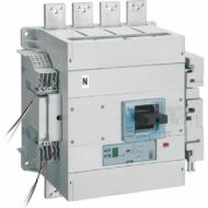 Legrand 422452 DPX3 1600 kompakt megszakító Sg+mérés 4P 1250A 36kA