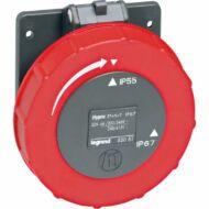 Legrand 053051 Hypra Dafbe-324k06 400V IP66/67-55 rögzíthető aljzat