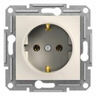 Schneider EPH2970123 Asfora 2P+F csatlakozóaljzat, csavaros, keret nélkül, bézs (120db)