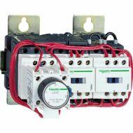 Schneider LC3D115P7A64 Csillag-delta indító mechanikus retesszel 110 kW (400V) szerelőlapon