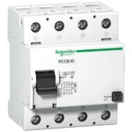 Schneider 16757 RCCB-ID B áram-védőkapcsoló, B osztály, 4P, 63A, 300mA