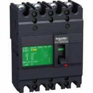 Schneider EZC100N4016 megszakító Easypact EZC100N - TMD - 16 A - 4 pólus 3d