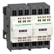 Schneider LC2D183Q7 AC irányváltó, 7,5kW/18A (400V, AC3), rugós csatlakozás, 1Z+1NY