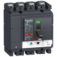 Schneider LV431652 4P4D TM160D NSX250F komplett megszakító