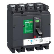 Schneider LV525341 EasyPact CVS250F 4P 36kA komplett megszakító TM160D 4P3D kioldóval