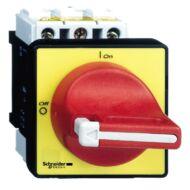 Schneider VCD01 fő- és vészleállító kapcsoló VCD - TeSys - 3p - 690 V 20 A - lakatolható piros fogantyú