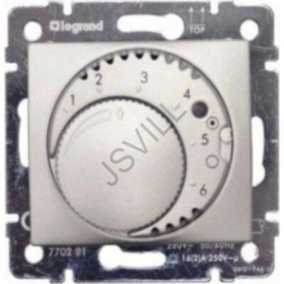 Kép illusztráció: Legrand 770226 Valena termosztát alumínium