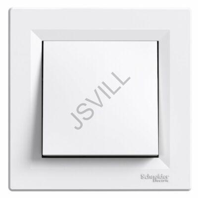 Kép illusztráció: Schneider EPH0200321 Asfora Kétpólusú kapcsoló, csavaros bekötés, fehér (102)
