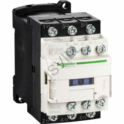 Kép illusztráció: Schneider LC1D096BLXS207 TeSys D mágneskap - 3P (3 NO) - AC-3 - 9 A - 24 V DC alacsony - szupresszor nélk