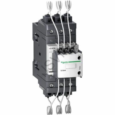 Kép illusztráció: Schneider LC1DTKQ7 TeSys LC1D.K kondenzátor mágneskap - 3P - 40 kVAR - 415 V - 380 V AC tekercs