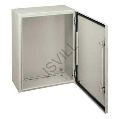 Kép illusztráció: Schneider NSYCRN43150 Elosztószekrény teli ajtóval (400x300x150) többcélú Spacial CRN