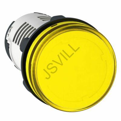 Kép illusztráció: Schneider XB7EV05GP jelzőlámpa - LED - sárga - 120V