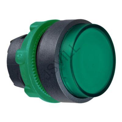 Kép illusztráció: Schneider ZB5AH33 zöld kiálló világító nyomógomb fej Ø22 nyomó-nyomó LED-es