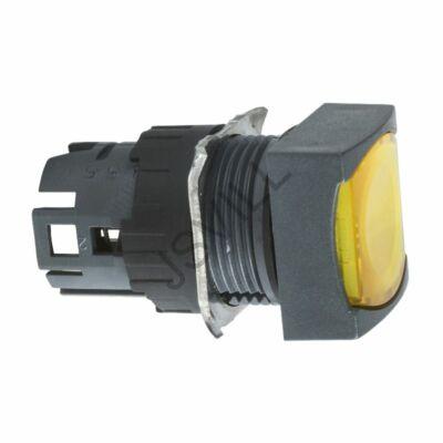 Kép illusztráció: Schneider ZB6CW5N sárga négyzetes sülly. világító nyomógomb fej Ø16
